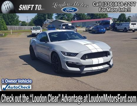 2016 ford mustang for sale in ohio for Loudon ford motors minerva