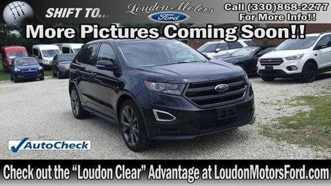 Used suvs for sale in minerva oh for Loudon motors ford minerva