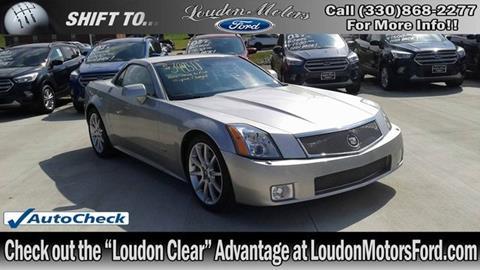 Cadillac Xlr V For Sale In Ohio Carsforsale Com