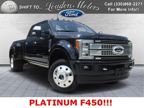 2019 Ford F-450 Super Duty for sale in Minerva, OH