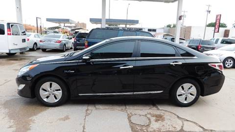 2014 Hyundai Sonata Hybrid for sale in Pratt, KS