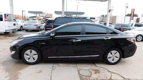2014 Hyundai Sonata Hybrid for sale in Pratt, KS
