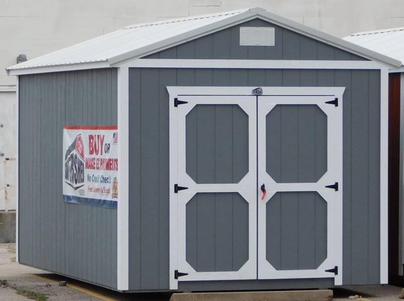 1 Derksen Cabins Utility Playhouse In Pratt KS - Mid Kansas
