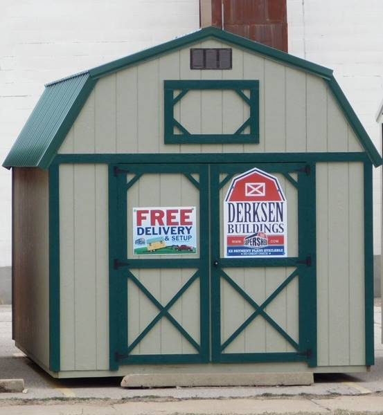 1 Derksen Cabins Utility Playhouse In Pratt KS - Mid Kansas Auto Sales