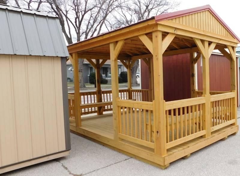1 Derksen Cabins Utility Playhouse In Pratt KS - Mid Kansas Auto Sales