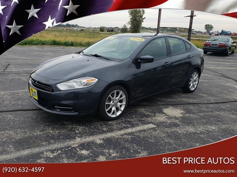 2013 Dodge Dart SXT for sale at Best Price Autos in Two Rivers WI