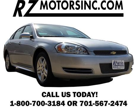 Used chevrolet impala limited for sale in north dakota for Rz motors inc hettinger nd