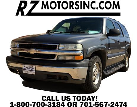 2002 Chevrolet Tahoe for sale in Hettinger, ND