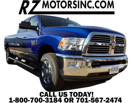 New 2017 ram ram pickup for sale in north dakota for Rz motors inc hettinger nd