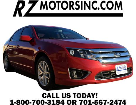 Used ford fusion for sale in hettinger nd for Rz motors inc hettinger nd