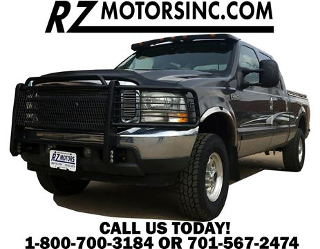 2002 Ford F-250 Super Duty for sale in Hettinger, ND