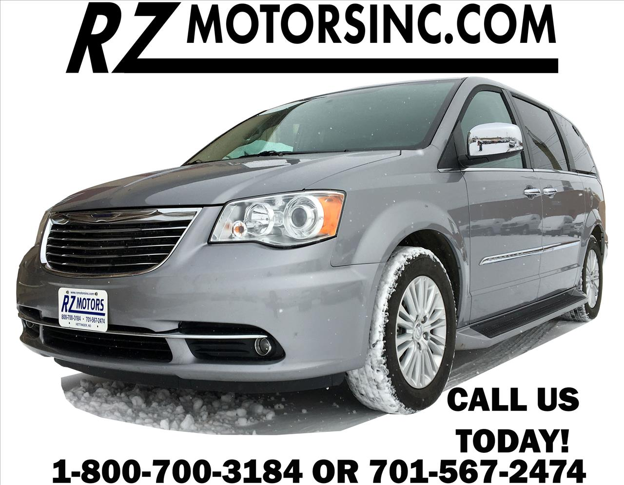 2015 chrysler town and country limited platinum 4dr mini for Rz motors inc hettinger nd