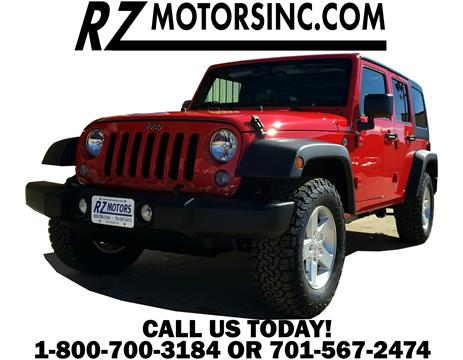 2017 Jeep Wrangler Unlimited for sale in Hettinger, ND