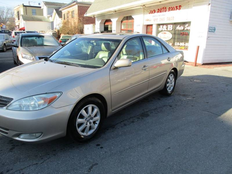 2004 toyota camry xle v6 4dr sedan in gwynn oak md j b auto sales. Black Bedroom Furniture Sets. Home Design Ideas
