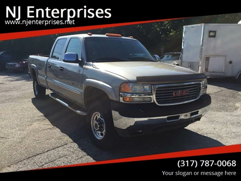 2002 GMC Sierra 2500HD for sale in Indianapolis, IN