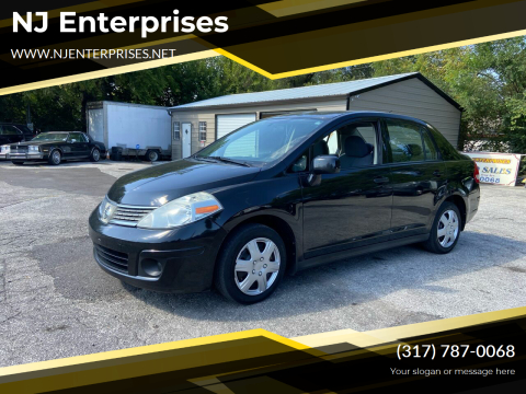 2009 Nissan Versa for sale at NJ Enterprises in Indianapolis IN