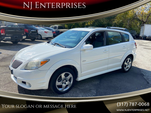 2008 Pontiac Vibe for sale at NJ Enterprises in Indianapolis IN