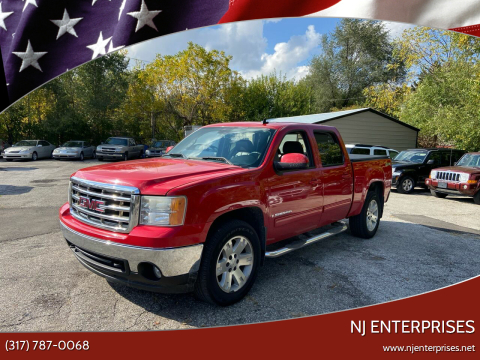 2008 GMC Sierra 1500 for sale at NJ Enterprises in Indianapolis IN