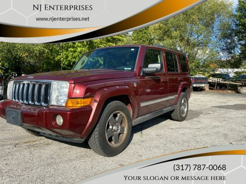 2007 Jeep Commander for sale at NJ Enterprises in Indianapolis IN