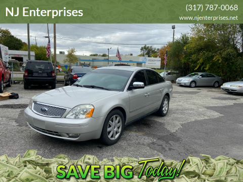 2006 Ford Five Hundred for sale at NJ Enterprises in Indianapolis IN