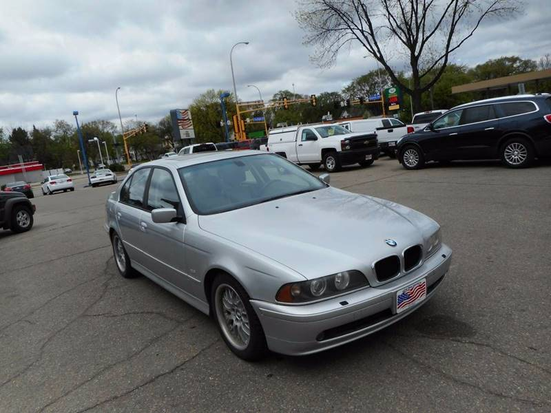 2003 BMW 5 Series for sale at Twin City Motors in Grand Forks ND