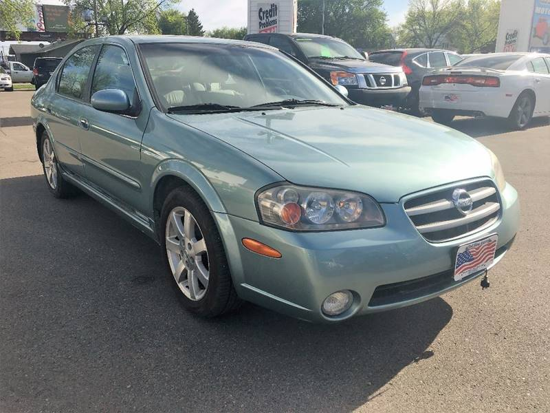 2002 Nissan Maxima for sale at Twin City Motors in Grand Forks ND