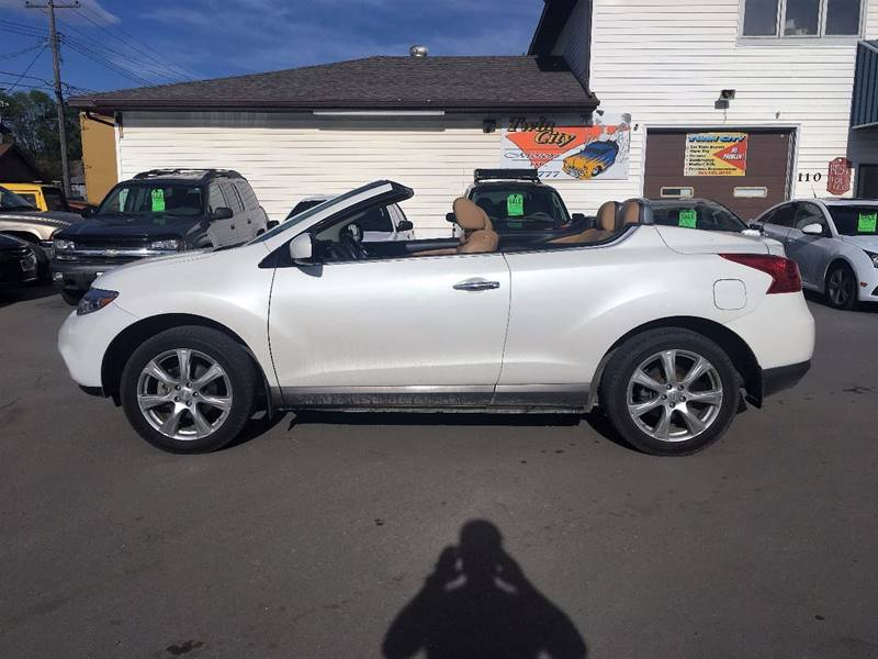 2013 Nissan Murano CrossCabriolet for sale at Twin City Motors in Grand Forks ND