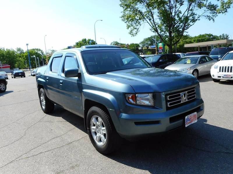 2007 Honda Ridgeline for sale at Twin City Motors in Grand Forks ND