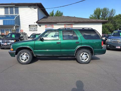 2000 Chevrolet Blazer for sale at Twin City Motors in Grand Forks ND
