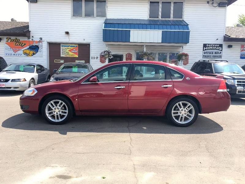 2008 Chevrolet Impala for sale at Twin City Motors in Grand Forks ND