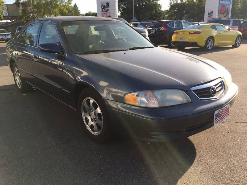 2002 Mazda 626 for sale at Twin City Motors in Grand Forks ND