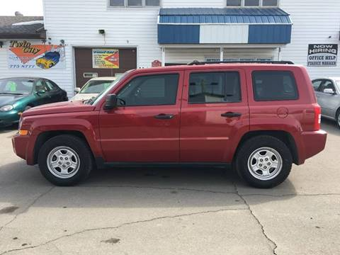 used 2010 jeep patriot for sale in grand forks nd. Black Bedroom Furniture Sets. Home Design Ideas