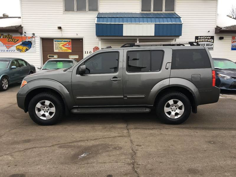 2005 Nissan Pathfinder For Sale At Twin City Motors In Grand Forks ND