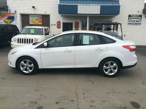 2013 Ford Focus for sale at Twin City Motors in Grand Forks ND