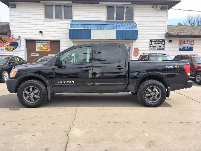 2013 Nissan Titan for sale at Twin City Motors in Grand Forks ND