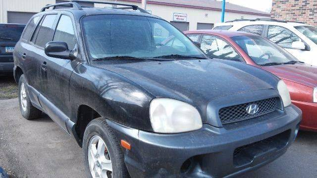 2003 Hyundai Santa Fe for sale at Twin City Motors in Grand Forks ND