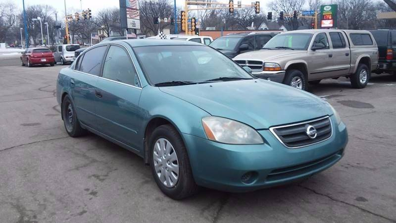 2002 Nissan Altima for sale at Twin City Motors in Grand Forks ND