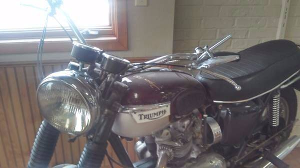 1970 Triumph Daytona for sale at Twin City Motors in Grand Forks ND