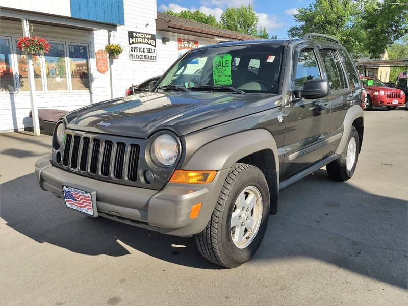 2006 Jeep Liberty for sale at Twin City Motors in Grand Forks ND