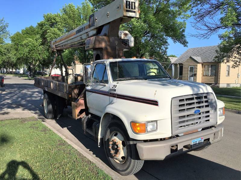 1995 Ford F-700 for sale at Twin City Motors in Grand Forks ND