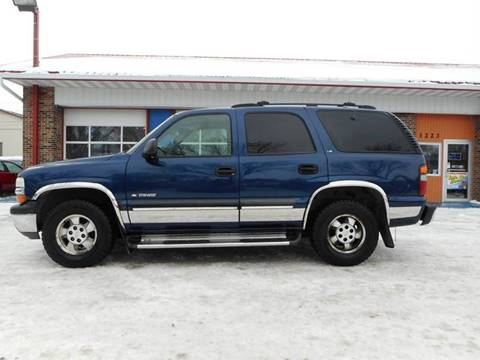 2000 Chevrolet Tahoe for sale at Twin City Motors in Grand Forks ND