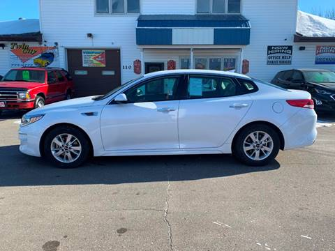 2018 Kia Optima for sale at Twin City Motors in Grand Forks ND