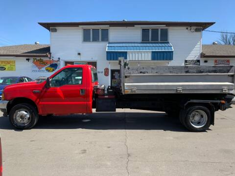 2001 Ford F-550 Super Duty for sale at Twin City Motors in Grand Forks ND