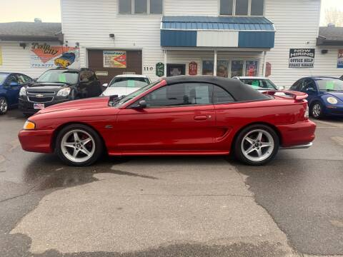 1994 Ford Mustang for sale at Twin City Motors in Grand Forks ND