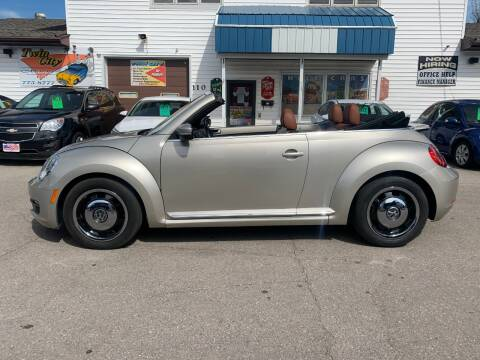 2015 Volkswagen Beetle Convertible for sale at Twin City Motors in Grand Forks ND