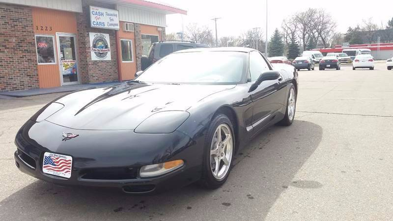 2004 Chevrolet Corvette for sale at Twin City Motors in Grand Forks ND