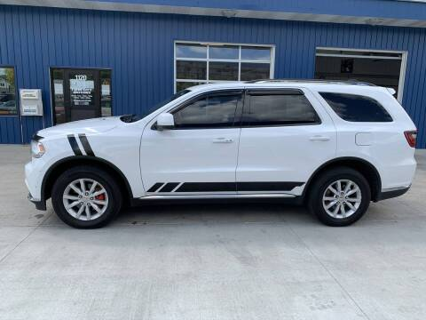 2015 Dodge Durango for sale at Twin City Motors in Grand Forks ND