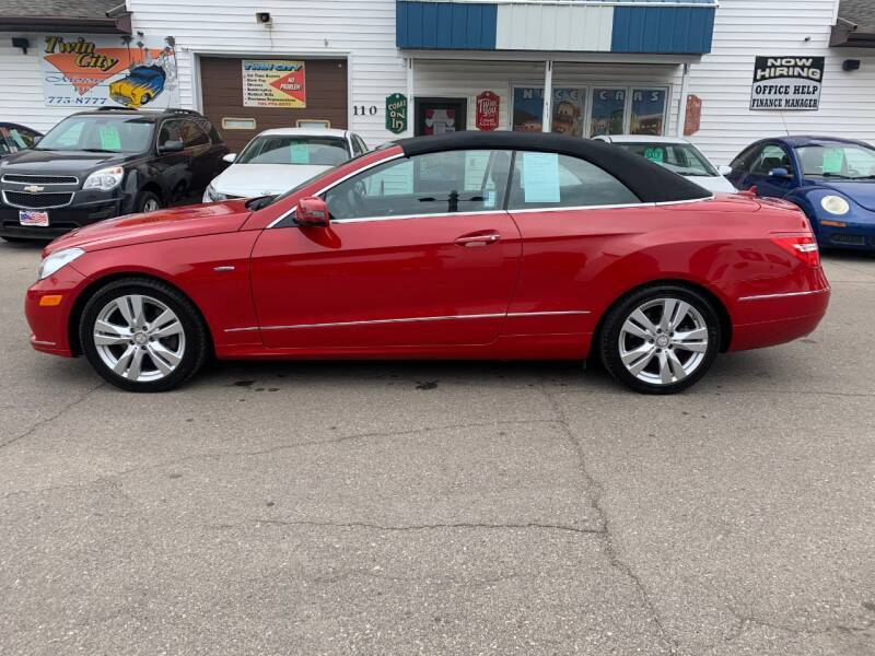2012 Mercedes-Benz E-Class for sale at Twin City Motors in Grand Forks ND