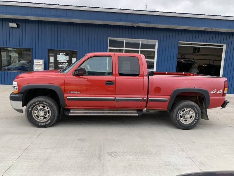 2002 Chevrolet Silverado 2500HD for sale at Twin City Motors in Grand Forks ND