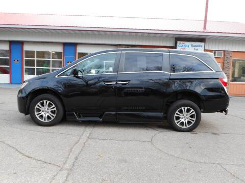 2013 Honda Odyssey for sale at Twin City Motors in Grand Forks ND